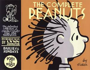 Complete Peanuts Vol 16 1981-1982 HC