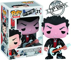 POP Rock 21 Sid Vicious Vinyl Figure