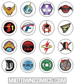 Flashpoint Pin Set Of 16 Pins
