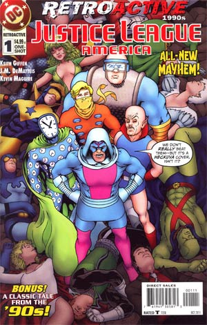 DC Retroactive Justice League Of America The 90s #1