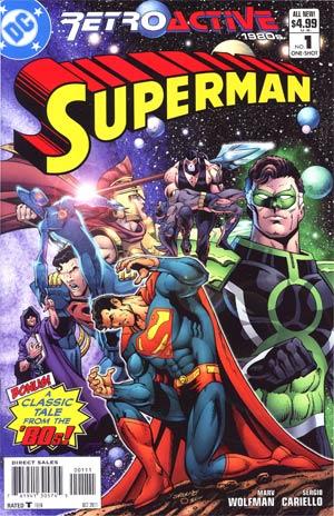 DC Retroactive Superman The 80s #1