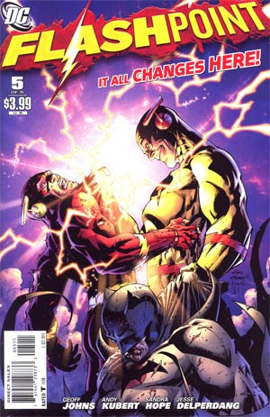Flashpoint #5 Cover A Regular Andy Kubert Cover