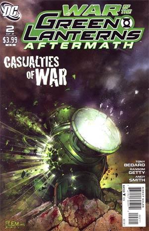 War Of The Green Lanterns Aftermath #2 Regular Tom Fleming Cover