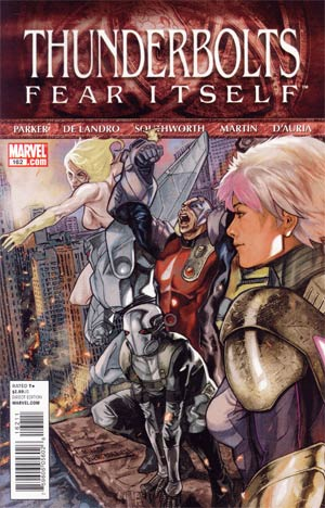 Thunderbolts #162 (Fear Itself Tie-In)