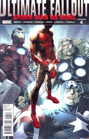 Ultimate Comics Fallout #4 Cover A 1st Ptg Regular Mark Bagley Cover With Polybag (Death Of Spider-Man Tie-In)