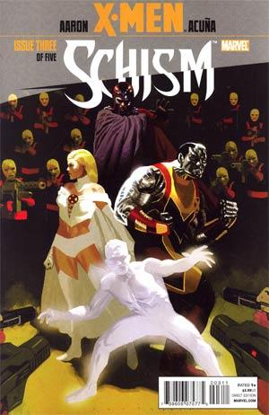 X-Men Schism #3 1st Ptg Regular Daniel Acuna Cover