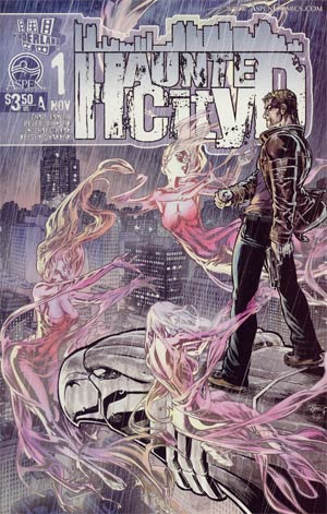 Haunted City #1 Cvr A Michael Ryan