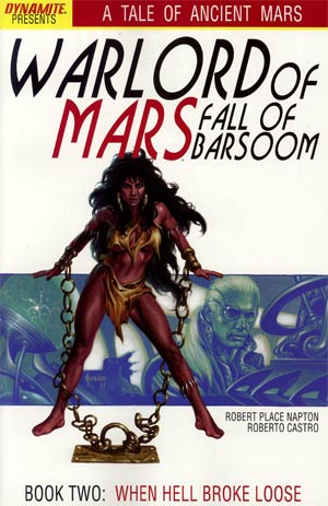 Warlord Of Mars Fall Of Barsoom #2 Regular Joe Jusko Cover