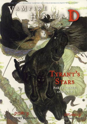 Vampire Hunter D Novel Vol 17 Tyrants Stars Parts 3 And 4 SC