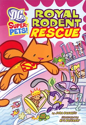 DC Super-Pets Royal Rodent Rescue TP