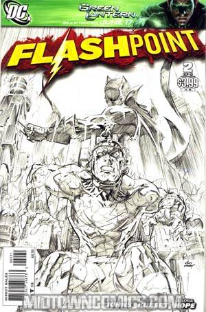Flashpoint #2 Cover B Incentive Andy Kubert Sketch Cover