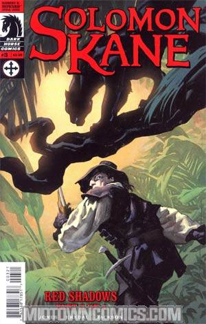 Solomon Kane Red Shadows #3 Incentive Gregory Manchess Variant Cover