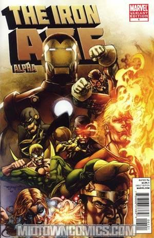 Iron Age Alpha #1 Incentive Stephen Segovia Variant Cover