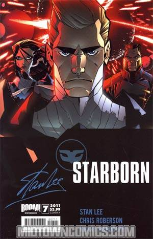Stan Lees Starborn #7 Cover A Matteo Scalera