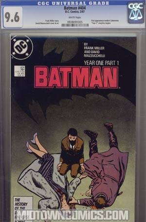 Batman #404 Cover D CGC 9.6