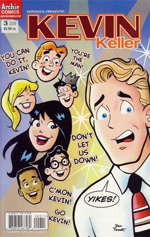 Veronica #209 (Veronica Presents Kevin Keller #3) Regular Cover
