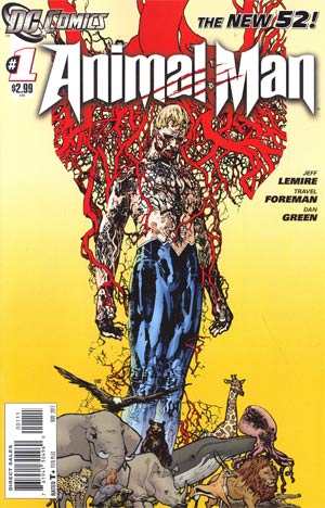 Animal Man Vol 2 #1 1st Ptg