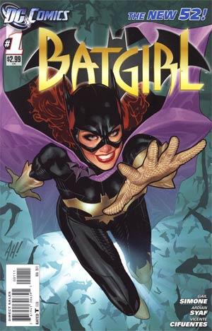 Batgirl Vol 4 #1 Cover A 1st Ptg
