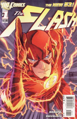 Flash Vol 4 #1 1st Ptg Regular Francis Manapul Cover