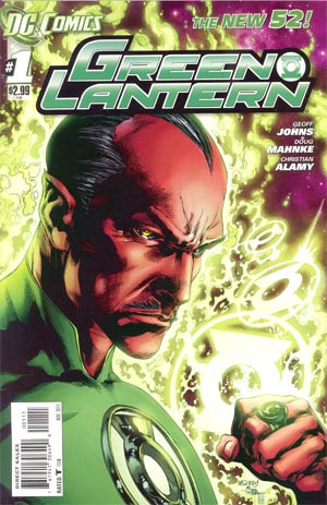 Green Lantern Vol 5 #1 1st Ptg Regular Ivan Reis Cover