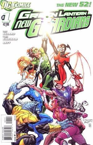Green Lantern New Guardians #1 Cover A 1st Ptg