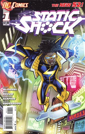 Static Shock #1 Cover A 1st Ptg