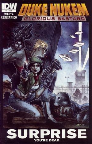 Duke Nukem Glorious Bastard #3 Cover A Regular John K Snyder III Cover
