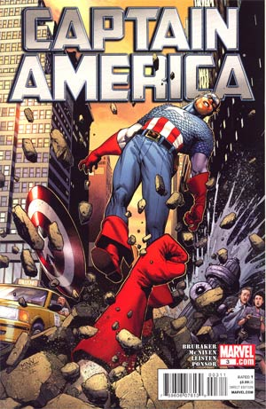 Captain America Vol 6 #3 Cover A Regular Steve McNiven Cover