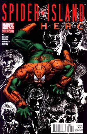 Herc #7 (Spider-Island Tie-In)
