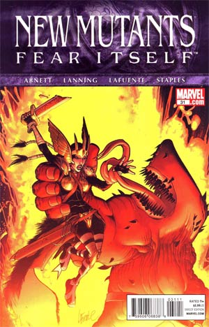 New Mutants Vol 3 #31 (Fear Itself Tie-In)