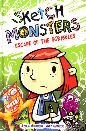 Sketch Monsters Vol 1 Escape Of The Scribbles HC