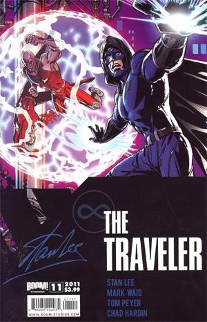Stan Lees The Traveler #11 Cover A Regular Paul Rivoche Cover
