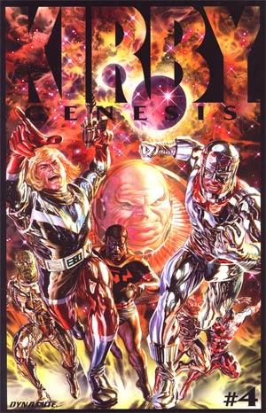 Kirby Genesis #4 Cover A Regular Alex Ross Cover