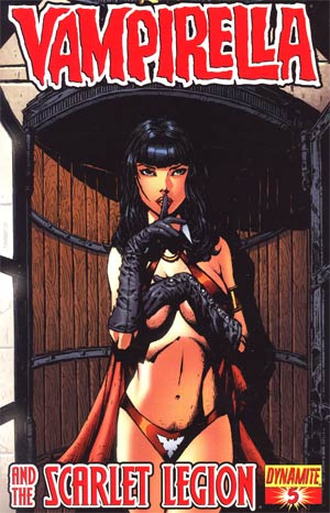 Vampirella And The Scarlet Legion #5 Regular Johnny Desjardins Cover