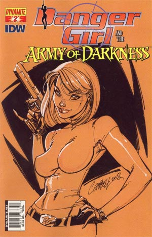 Danger Girl And The Army Of Darkness #2 Cover A Regular J Scott Campbell Cover
