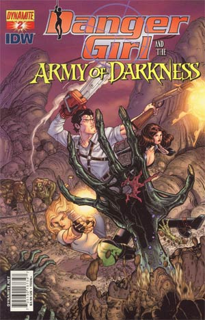 Danger Girl And The Army Of Darkness #2 Cover C Regular Nick Bradshaw Cover