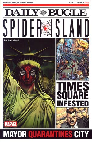 Spider-Island Daily Bugle