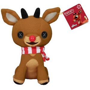 Rudolph The Red-Nosed Reindeer Rudolph Plushies
