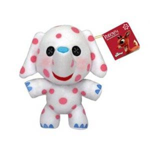 Rudolph The Red-Nosed Reindeer Misfit Elephant Plushies