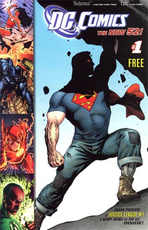 DC The New 52 #1 Preview Book