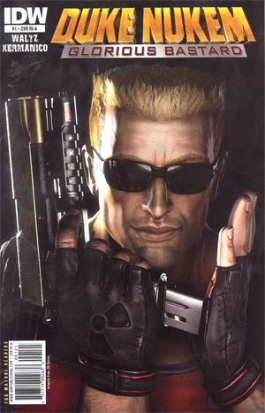 Duke Nukem Glorious Bastard #1 Cover C Incentive Concept Art Team Variant Cover