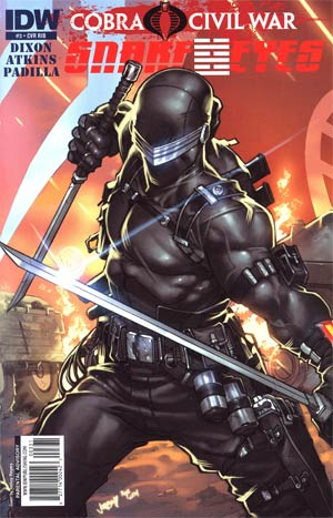 Snake Eyes #3 Cover D Incentive Jonboy Meyer Interconnecting Variant Cover (Cobra Civil War Tie-In)