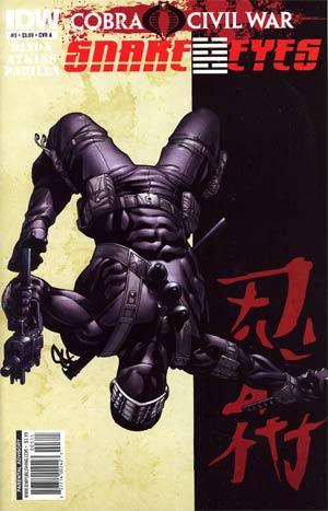 Snake Eyes #3 Cover A (Cobra Civil War Tie-In)