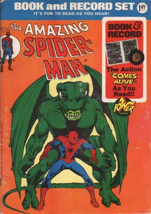 Power Record Comics #24 Spider-Man II Without Record