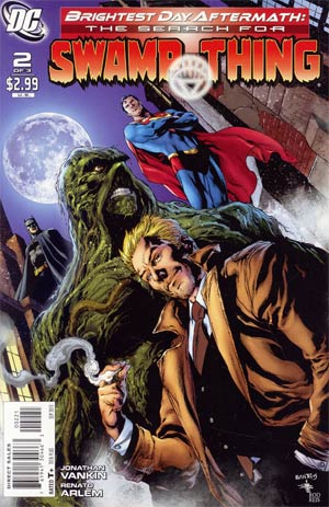 Brightest Day Aftermath The Search For Swamp Thing #2 Incentive Ivan Reis Variant Cover