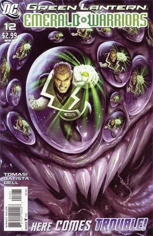Green Lantern Emerald Warriors #12 Cover B Incentive Alex Garner Variant Cover (War Of The Green Lanterns Epilogue)