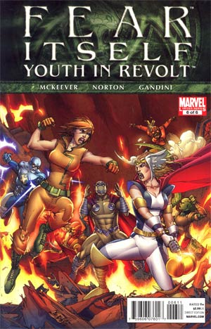 Fear Itself Youth In Revolt #6