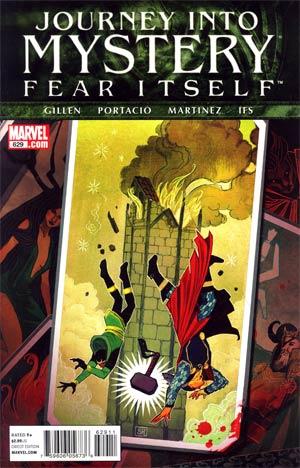 Journey Into Mystery Vol 3 #629 (Fear Itself Tie-In)