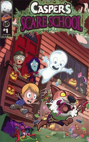 Caspers Scare School #1 Regular Cover