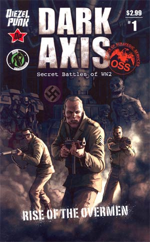 Dark Axis Rise Of The Overmen #1